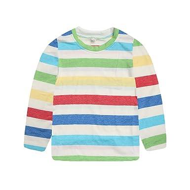 Camiseta Mangas largas para Chicas, Manga Larga Niñas Camisetas ...