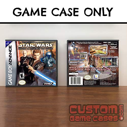 Gameboy Advance Star Wars Episode II: Attack of the Clones - Case