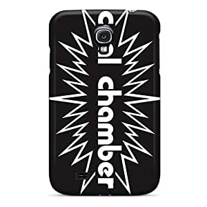 CharlesPoirier Samsung Galaxy S4 Bumper Cell-phone Hard Cover Unique Design Colorful Coal Chamber Band Image [Xlg3336KXtV]