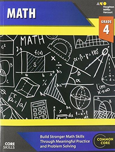 Steck-Vaughn Core Skills Mathematics: Workbook Grade 4