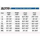 ZCCO Ultra Stretch 3mm Neoprene Wetsuit, Back Zip