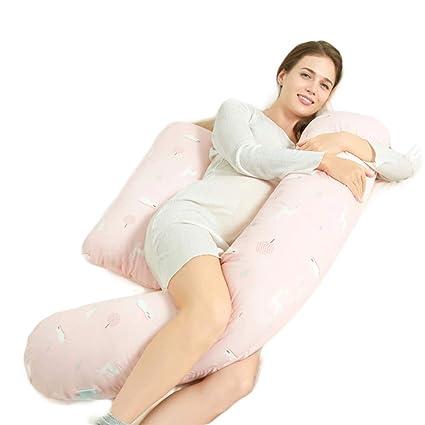 Vicheng Almohada de Cuerpo Completo para el Embarazo - Cojín ...