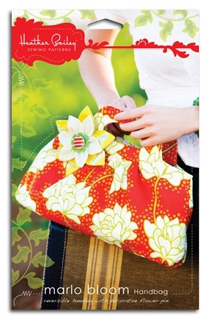 (Heather Bailey's Marlo Bloom Handbag Pattern)