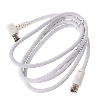 ESden Cable coaxial para antena de satélite de televisión (9 ...