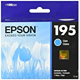 Epson T195220-AL Cartucho de Tinta 195 para XP-101/XP-201 Clr, Cyan