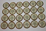 Geocaching Coins Swag Bottle Caps - Christian Scripture 24 Piece Collection