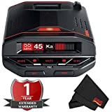 Escort Redline EX Radar Detector with Bluetooth, GPS & Preloaded Camera Database with 2 Year Warranty