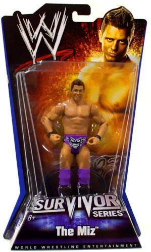 WWE Survivor Series The Miz Figure