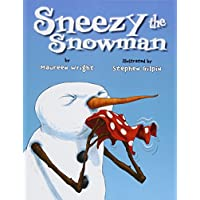 Deals on Maureen Wright Sneezy the Snowman Paperback