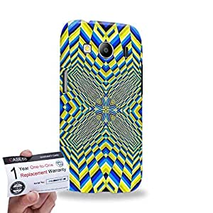 Case88 [Samsung Galaxy Ace 4 LTE G357] 3D impresa Carcasa/Funda dura para & Tarjeta de garantía - Art Fashion Visual Art Effect 21