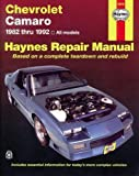 Chevrolet Camaro  '82'92 (Haynes Repair Manuals)