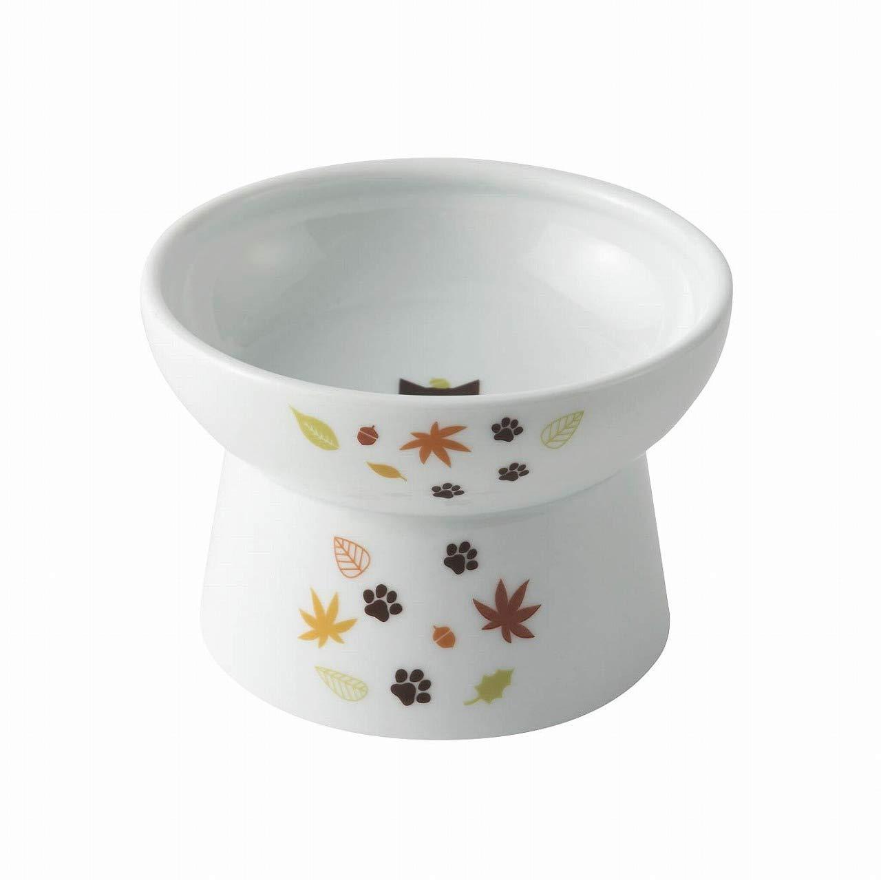 shirleyjj Necoichi Raised Cat Food Bowl (Leaf Limited Edition, Regular) by shirleyjj