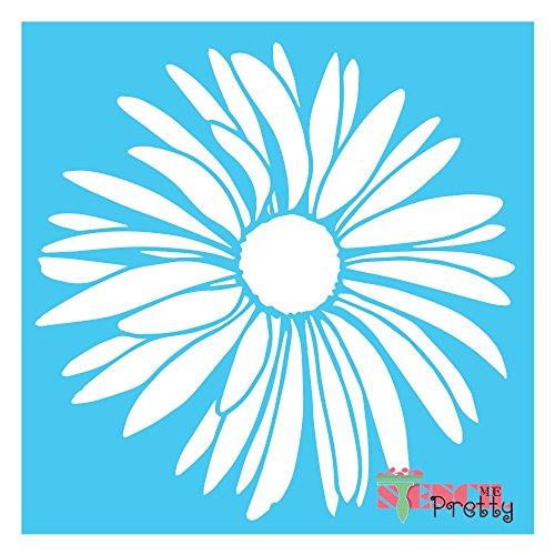 Flower Stencil (Summer Flower Stencil DIY Sunflower Crafting -XS (8