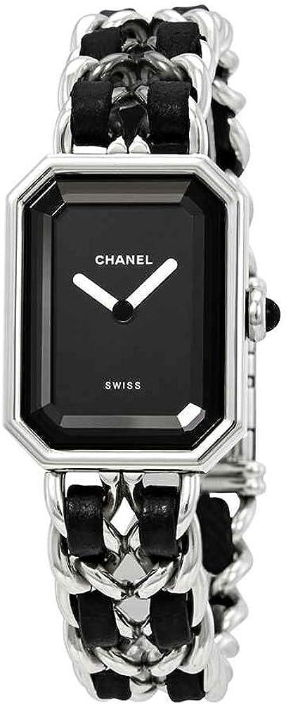 Chanel Premiere H0451 - Reloj para Mujer, Esfera Negra