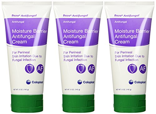 Baza Cream Antifungal Barrier - Skin Protectant Baza Antifungal Tube Cream Scented (PACK OF 3)