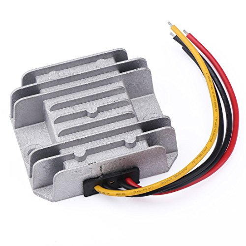 GEREE DC-DC Buck Converter 12V/24V to 5V 5A/25W Step-down Voltage Transformer Volt Regulator Power Supply Inverter Module Waterproof Car Power Adapter for Car Auto Vehicle Motor