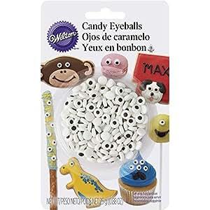 Wilton 710-7236 Mini Candy Eyeballs, 24 Count