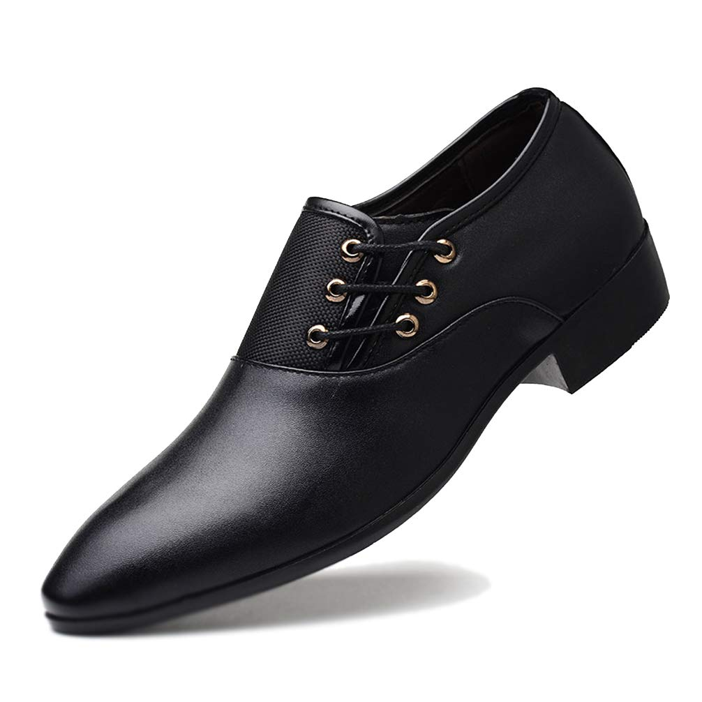 Men's Dress Shoes Classic Pointed Toe Oxfords Fashion Business Party Shoes
