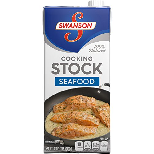- Swanson Seafood Cooking Stock, 32 oz.  (Pack of 12)