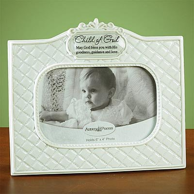 Abbey Press ''Child of God'' Photo Frame - Inspiration Faith Blessing Spirit 55812T-ABBEY by Abbey Press