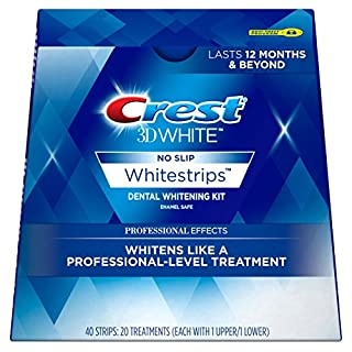 Crest 3D White Professional Effects Whitestrips Dental Whitening Kit, 20 Treatments - Packaging May Vary (B00336EUTK) | Amazon Products