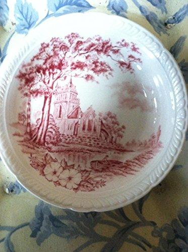 "Vintage Royal Tudor Ware Barker Bros Staffordshire Waltham England dish 5"""