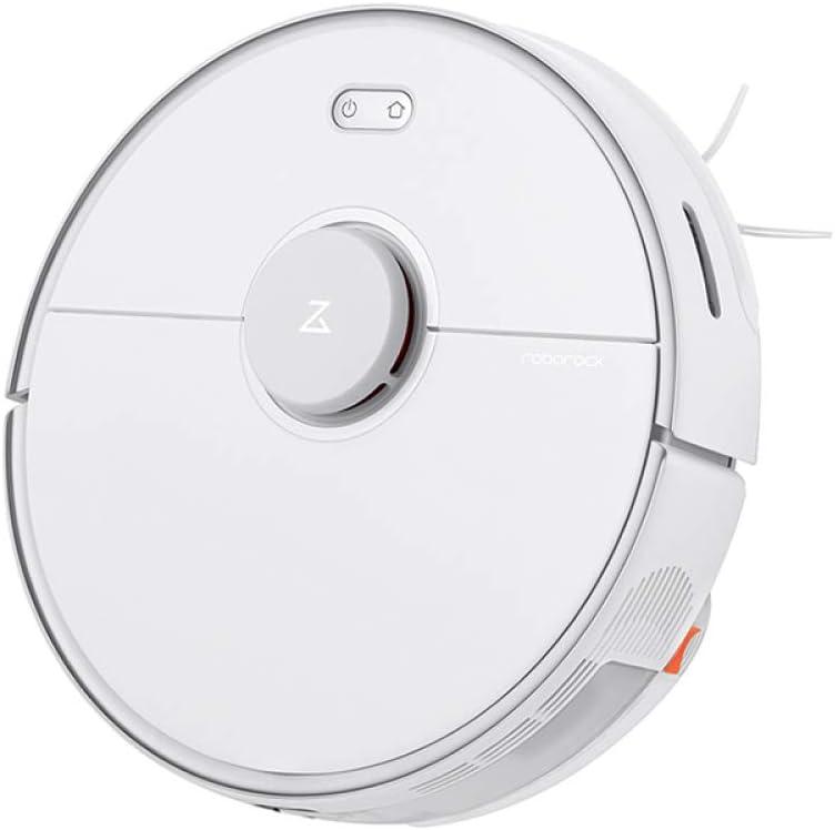MAZ Aspiradora Robot Planes Inteligentes para el Polvo Barrido Dentro de la Mopa de Lavado Automático de Desinfección Aspiradora Eléctrica/Blanco