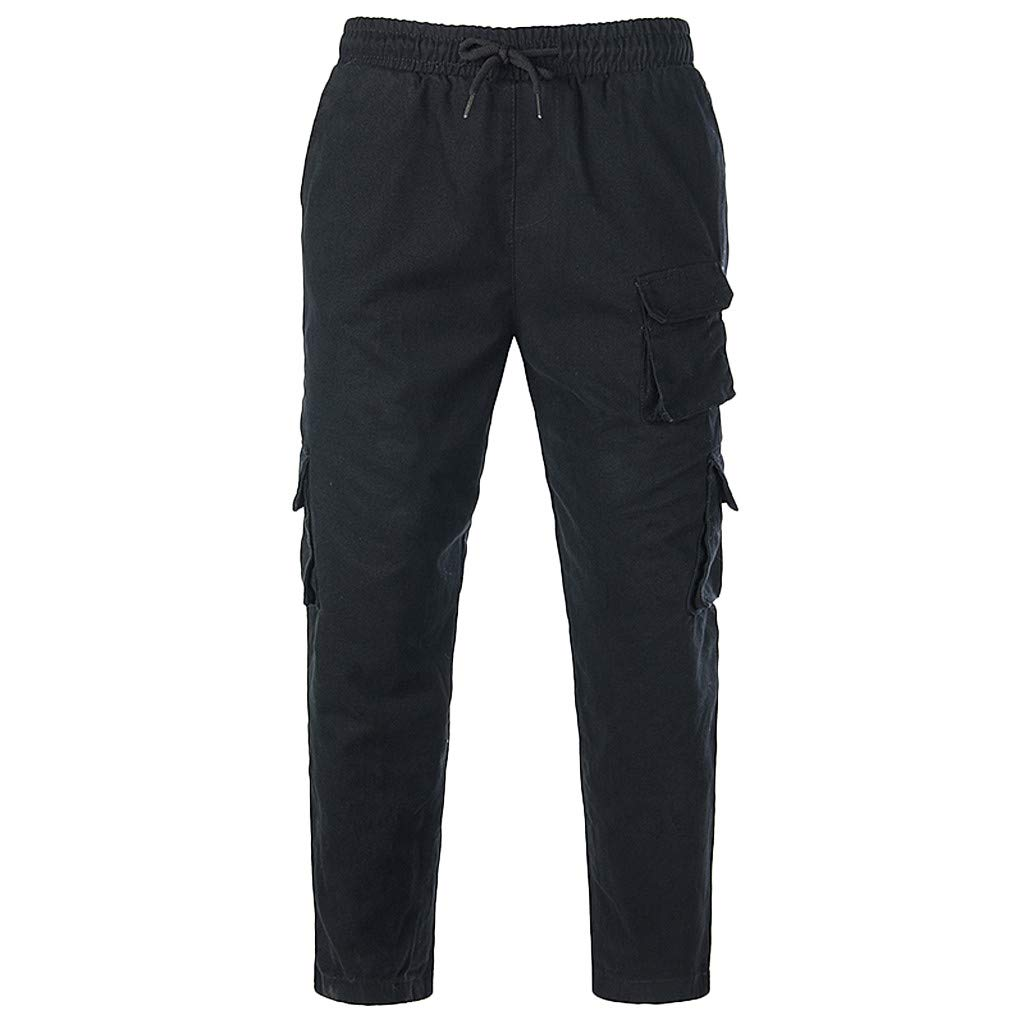 Fashion Men Overalls Overalls Casual Sport Work Loose Sweatpants Trouser Pants