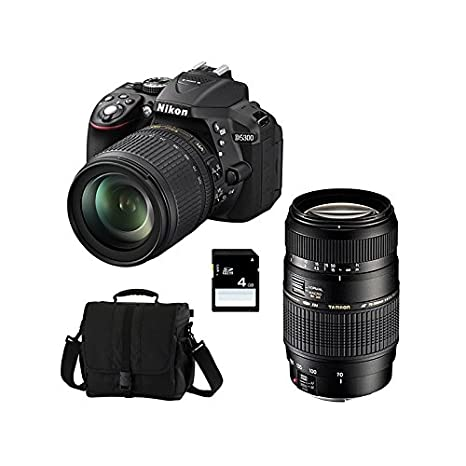 Nikon D5300 + 18-105 VR + TAMRON 70-300 DI + SD 4GB: Amazon.es ...