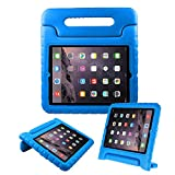 BFTOP Compatible Kids Case for iPad 2 3 4, Lightweight Shockproof Handle Friendly Convertible Stand Cover Case for iPad 2, iPad 3rd Generation, iPad 4th Generation - Blue