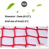 Fence Netting,Ski Resort Protection Net Football Golf Large Small Sports Venue Backstop Net Ball Stop Net Goal Multi-Functional Sports Ball Fence for Gardens, Schools Or Sports Clubs,Customization