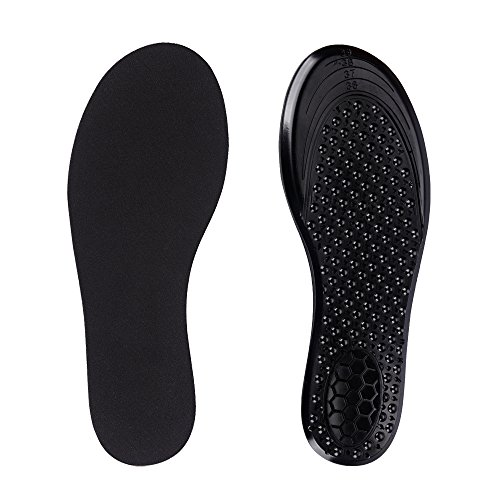 Inserts Running Free (SESSOM&CO Super Active Insoles for Work Boots Hiking Running Trainers Shoes Inserts Unisex (US's Women 5-9))
