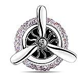 cogeek Air Force Nº 3Diamond Car Aire Acondicionado Outlet Mini ventilador Clip de perfume