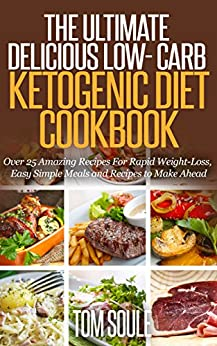 The Ultimate Delicious Low- Carb Ketogenic Diet Cookbook ...