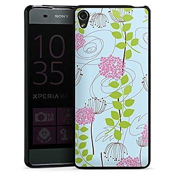 Sony Xperia XA móvil Case Funda Carcasa Flores y enredaderas ...