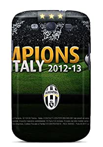 Galaxy S3 FzXlI10053KBoXW Juventus Scudetto 2013 Tpu Silicone Gel Case Cover. Fits Galaxy S3