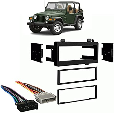 1997 jeep tj brake switch wiring amazon com compatible with jeep wrangler 1997 2002 single din  jeep wrangler 1997 2002 single din