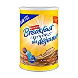CARNATION BREAKFAST ESSENTIALS, Breakfast Drink Mix, Chocolate, 880g Canister