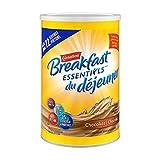 CARNATION BREAKFAST ESSENTIALS, Breakfast Drink Mix, Chocolate, 880g Canister