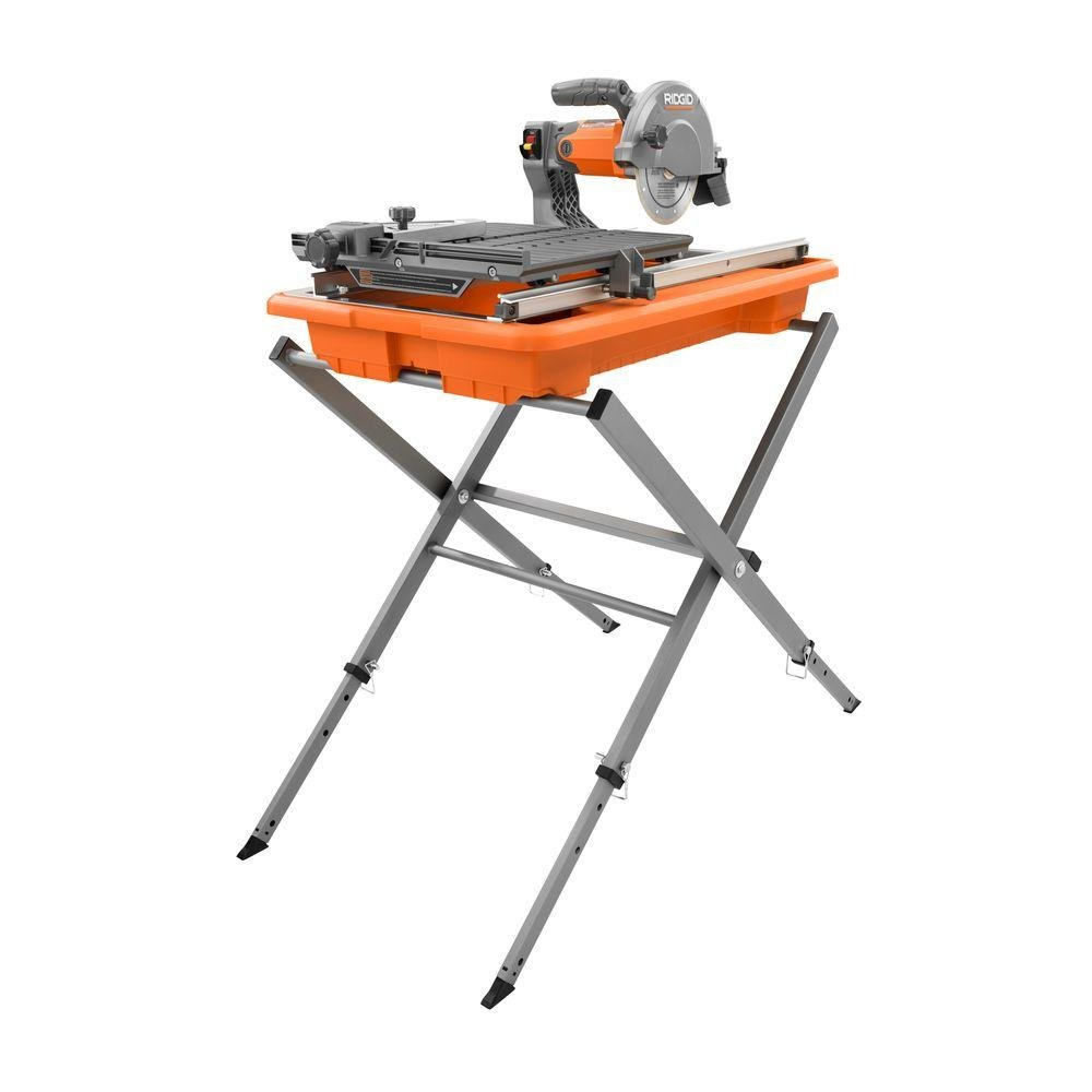 Ridgid R4030s 7'' Tile Saw with Foldable Stand by Ridgid