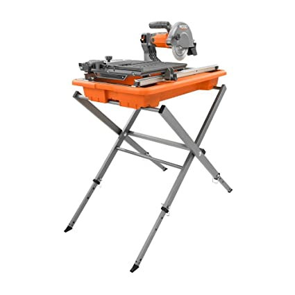 Ridgid R4030s 7 Tile Saw With Foldable Stand Amazoncom
