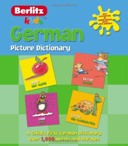 German Picture Dictionary (Kids Picture Dictionary) ebook