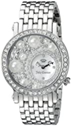 Juicy Couture Women's 1901348 Analog Display Quartz Silver Watch