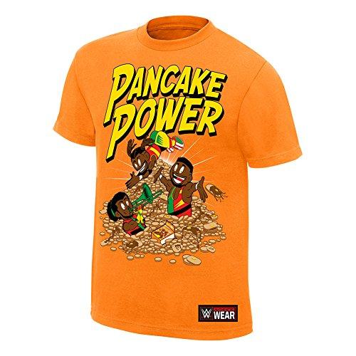 606c9fa6ccf58 WWE The New Day Pancake Power T-Shirt Orange 3XL