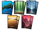 400 Unhinged Mana Symbol Deck Protectors Sleeves MTG [5-Pack Bundle] by Ultra Pro 80 of Each Style
