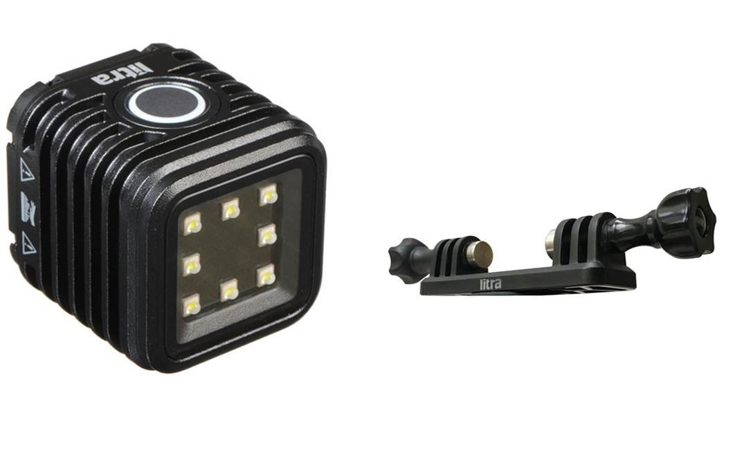 LitraTorch (Water Proof Photo & Video Light) + Double Mount Bundle