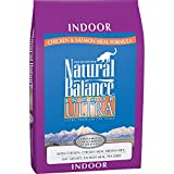 Cheap Natural Balance Indoor Ultra Chicken Meal & Salmon Meal Formula Dry Cat Food, 15-Pound