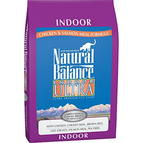 Lid Duck (Natural Balance Indoor Ultra Chicken Meal & Salmon Meal Formula Dry Cat Food, 15-Pound)