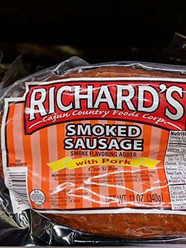Richard's Pork Smoked Sausage 12 Oz (4 ()