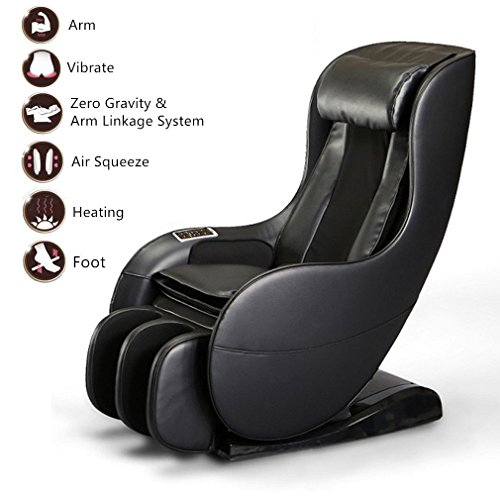 Cozime Luxury Reclining Leather Massage Chair Automatic Relax...